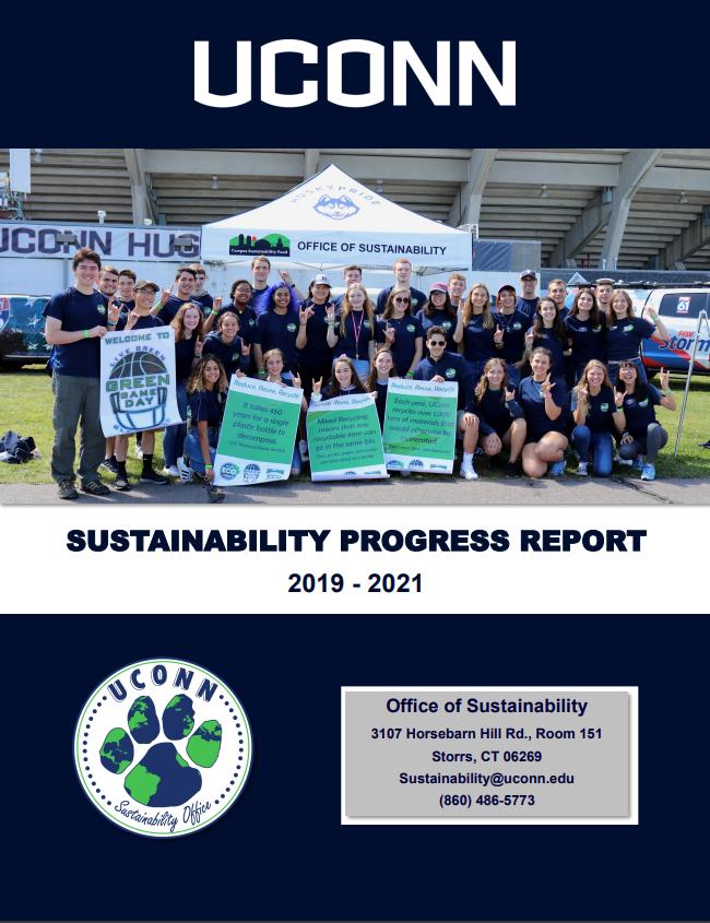 2019-2021 Sustainability Progress Report